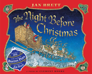 The Night Before Christmas book and DVD