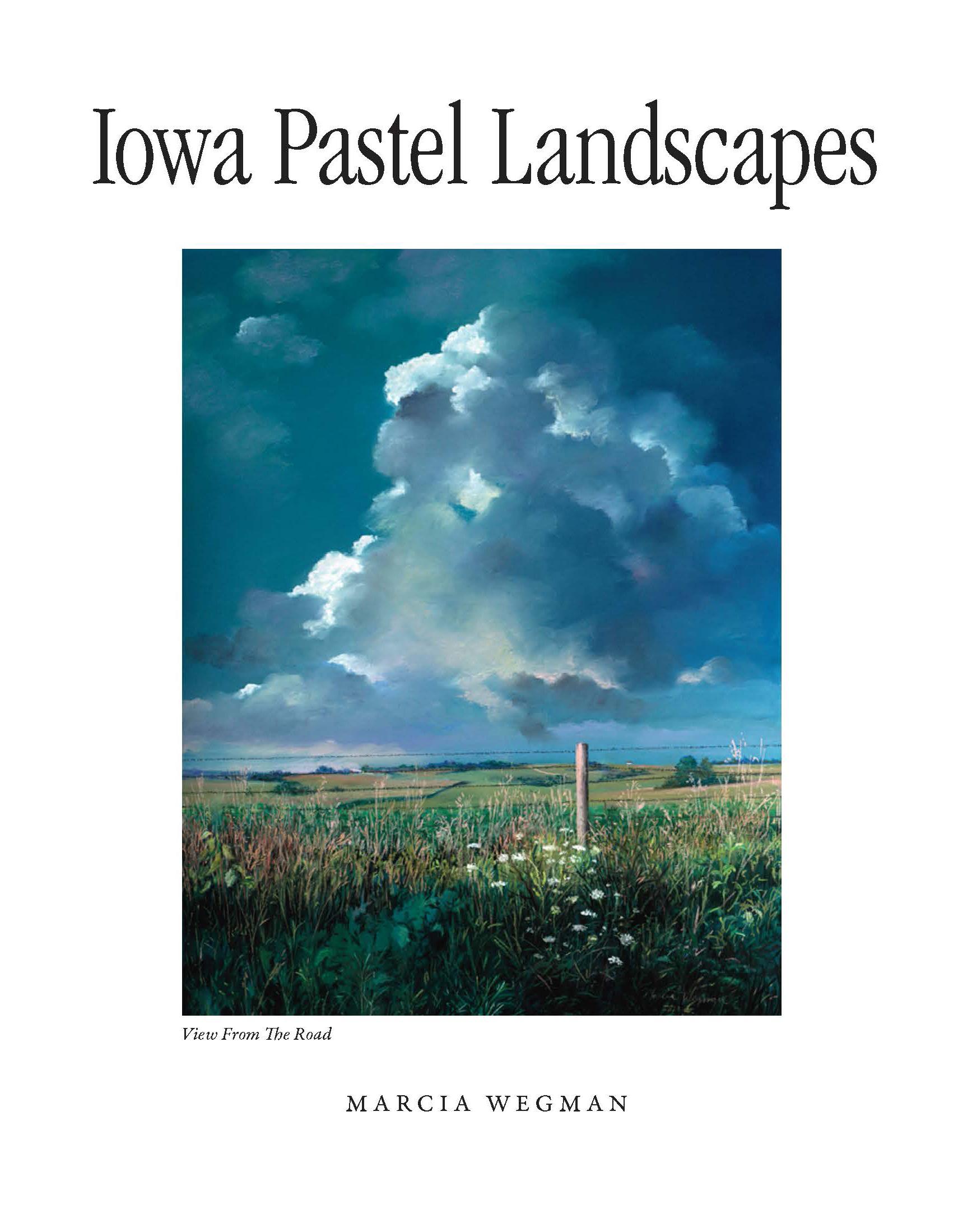 13-239 Iowa Pastel Landscapes Wegman front cover